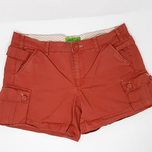 Old Navy Shorts - Old Navy Low Waist Red Shorts Ladies 12